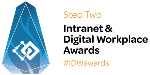 Step Two Intranet & Digital Workplace Awards logo