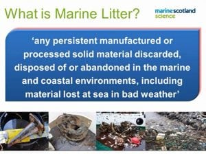 What is Marine Litter slide