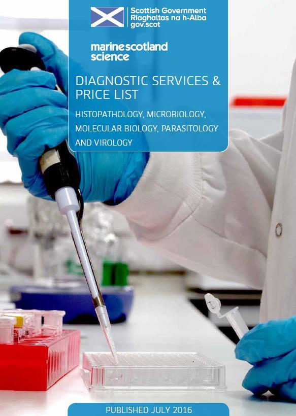 Diagnostics brochure cover