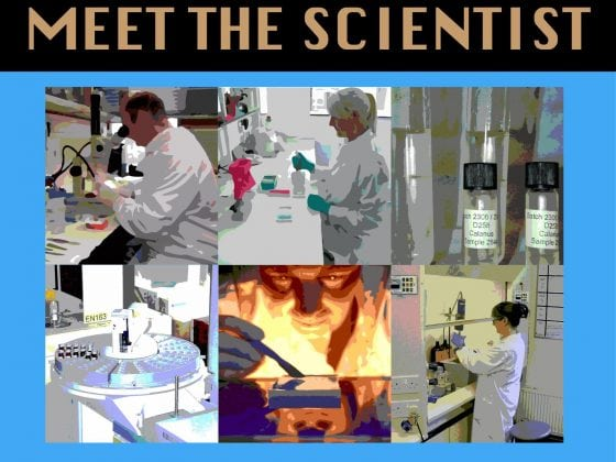 Meet the scientist logo