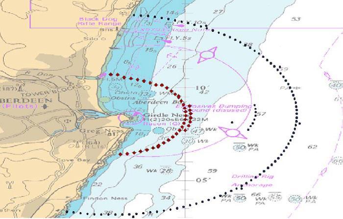 Figure 1 Locations of Salmon Detector Moorings