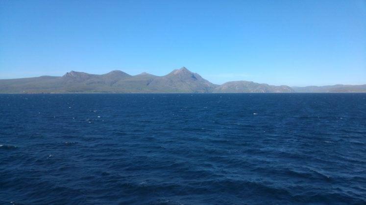 Returning back into Loch Broom enroute to Ullapool – 0118H Survey