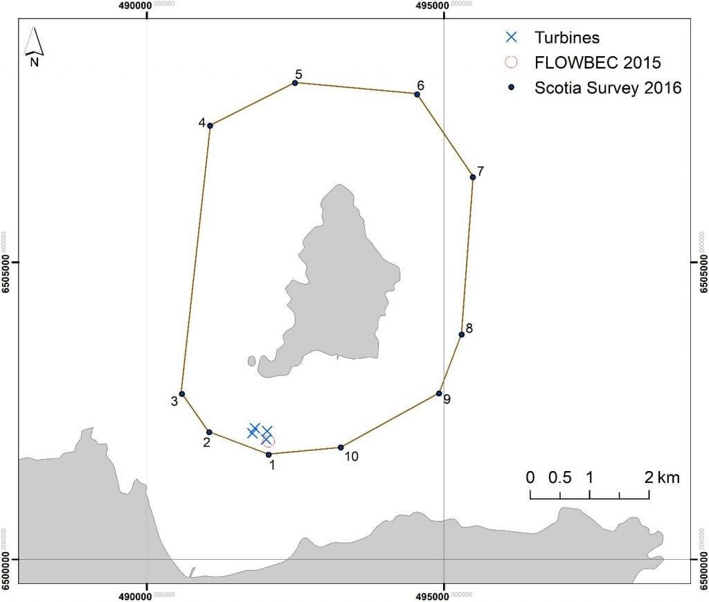 1018S figure 1 Scotia survey route in 2016
