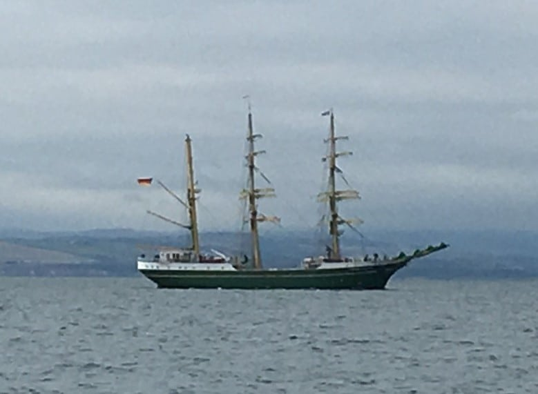 Alexander Von Humboldt II - German Tall Ship cropped