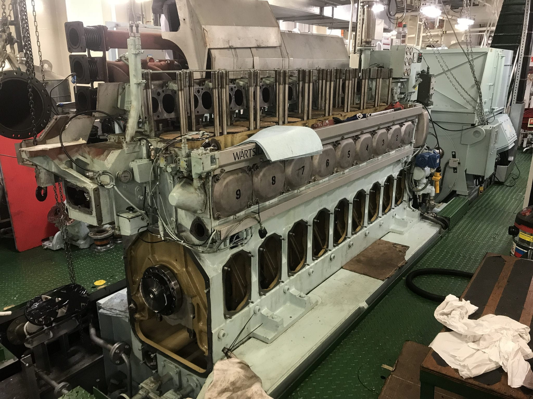 Wartsilla diesel engine