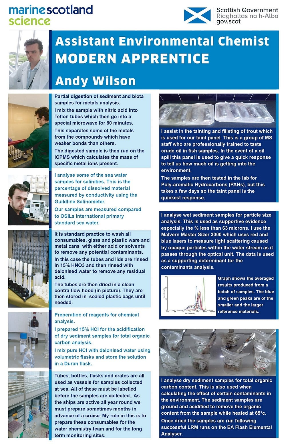 Andy Wilson Science in Government poster