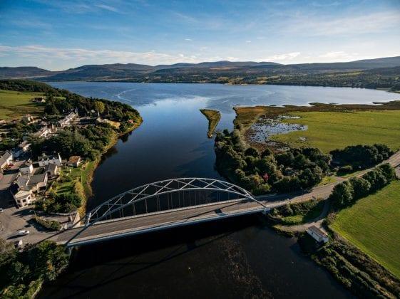 Bonar Bridge on the Dornoch Firth