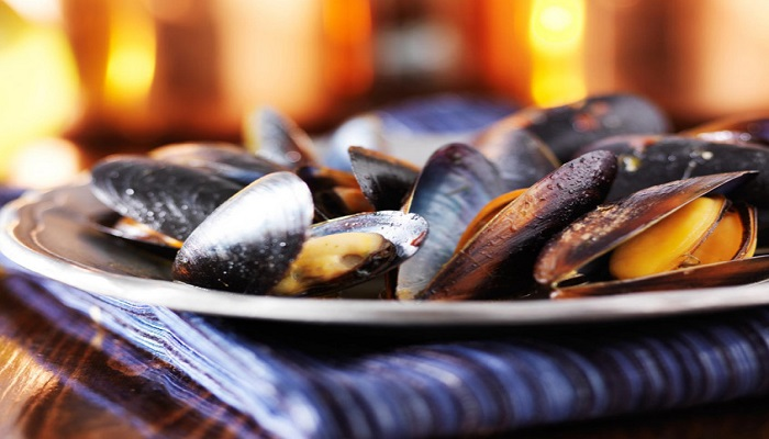 Image of mussels from Scottish Shellfish