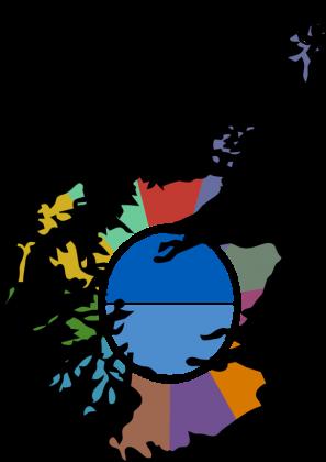 map of scotland graphic