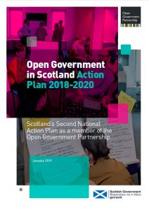 Scotland's second action plan on open government