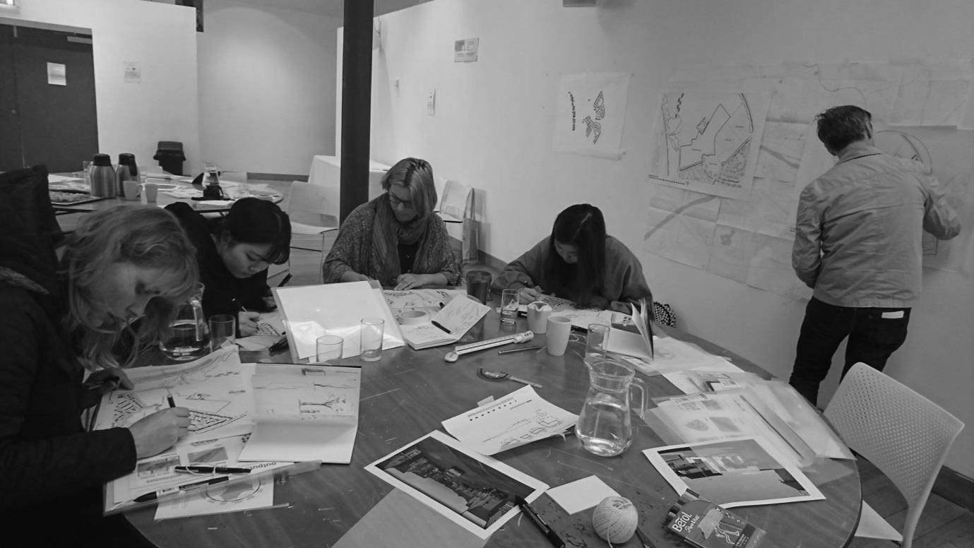 Planning and Architecture Designing Places Student Competition 2018