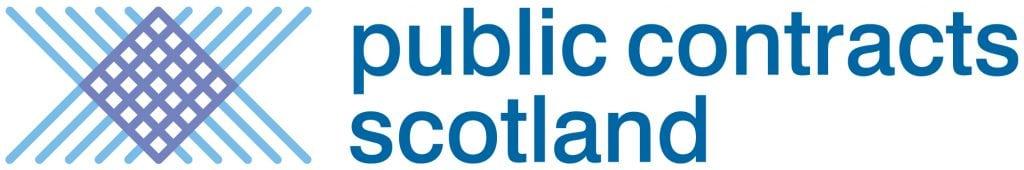Public Contracts Scotland logo