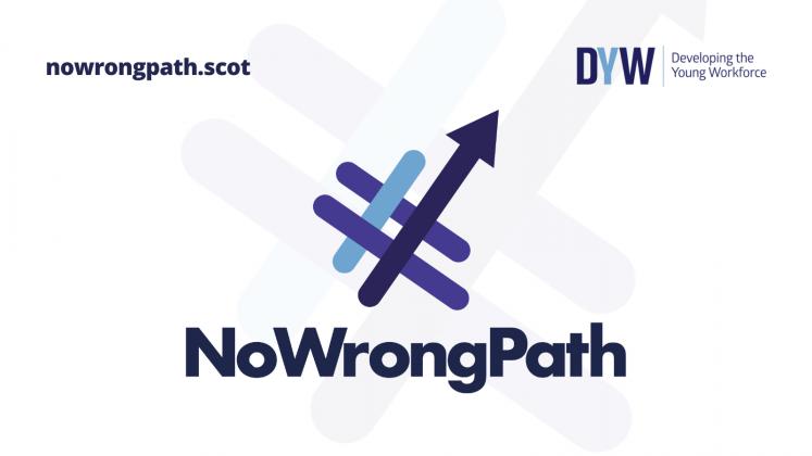 No Wrong Path campaign logo
