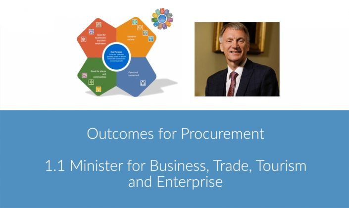 Outcomes for Procurement (Ivan McKee MSP)