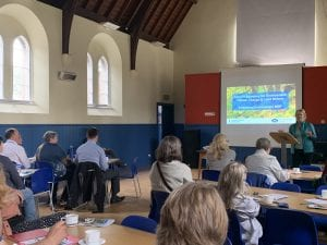 Roseanna Cunningham at Orkney's Big Climate Conversation