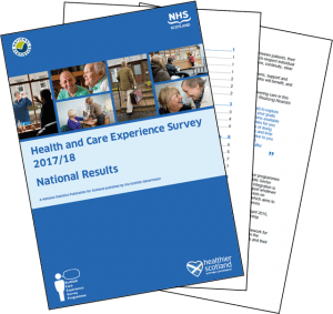 Health and Care Experience Survey 2017/18: National Results